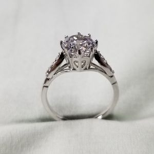Sterling silver engagement ringNWT for sale